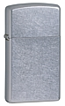 SKU-1607  SLIM STREET CHROME ZIPPO LIGHTER