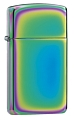 SKU-20493  SLIM SPECTRUM ZIPPO LIGHTER