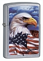 SKU-24764 MAZZI EAGLE/FLAG ZIPPO LIGHTER