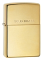 SKU-254  HIGH POLISH W/SOLID BRASS ENGRAVED ZIPPO LIGHTER