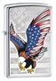 SKU-28449 HIGH POLISH CHROME EAGLE ZIPPO LIGHTER (RETAIL PRICE IS $31.95)