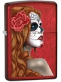 SKU-28830 DAY OF THE DEAD GIRL ZIPPO LIGHTER (RETAIL PRICE IS $28.95)