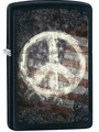 SKU-28864 PEACE SIGN ZIPPO LIGHTER