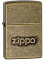 SKU-28994 ANTIQUE BRASS ZIPPO STAMP ZIPPO LIGHTER (RETAIL PRICE IS $31.95)
