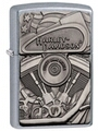 SKU-29266 HARLEY DAVIDSON HIDDEN EMGINE EMBLEM ZIPPO LIGHTER