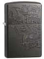SKU-29431 ENGRAVED PAISLEYS ZIPPO LIGHTER