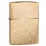 SKU-29830 HERRINGBONE SWEEP BRASS ZIPPO LIGHTER