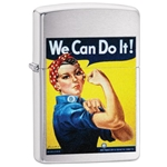 SKU-29890 US ARMY WE CAN DO IT ZIPPO LIGHTER