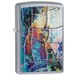 SKU-29897 RUST PATINA DESIGN ZIPPO LIGHTER