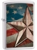 SKU-28653 FLAG AND STAR ZIPPO LIGHTER