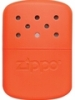 SKU-40348 BLAZE ORANGE FINISH 12 ZIPPO HAND WARMER