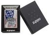SKU 29508 EAGLE FLAG ZIPPO LIGHTER