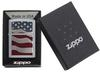 SKU 29513 USA FLAG DIAMOND PLATE EMBLEM ZIPPO LIGHTER
