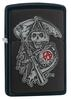 SKU 29489 SONS OF ANARCHY EMBLEM ZIPPO LIGHTER