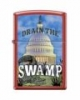 SKU-816330 RED MATTE DRAIN THE SWAMP ZIPPO LIGHTER