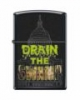 SKU-816439 BLACK MATTE DRAIN THE SWAMP ZIPPO LIGHTER