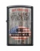 SKU-816736 BLACK MATTE AMERICA FIRST ZIPPO LIGHTER