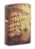SKU-49355 PIRATE SHIP DESIGN ZIPPO LIGHTER