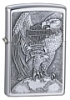 SKU-200HDH231  H-D MADE IN USA EAGLE & GLOBE EMBLEM ZIPPO LIGHTER